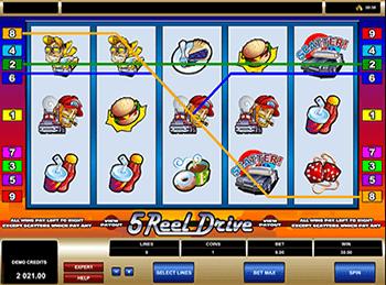 Игровые автоматы 5 reel drive все о стратегиях в казино